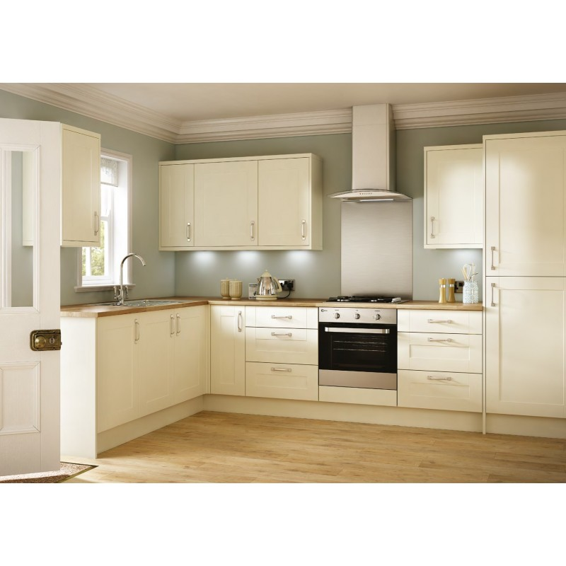Prime Emly Matt Cream Shaker Door Kitchen Download Free Architecture Designs Scobabritishbridgeorg