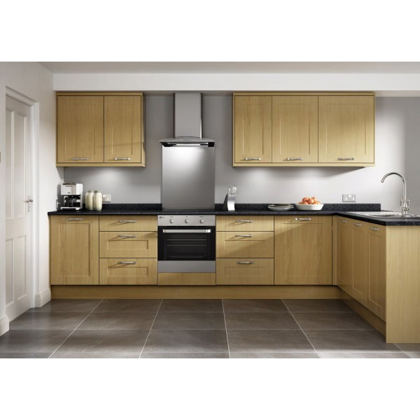 Ballymore 1 Piece Oak Vinyl Shaker Door Kitchen