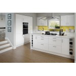 Paris White High Gloss inc Bar Handle
