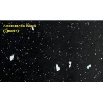 Spectra Andromeda Black Quartz Spark Laminate Work Surface