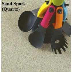 Spectra Sand Spark Quartz Laminate Work Surface