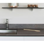 12.5mm Iron Oxide Slate Solid Surface Worktop