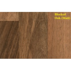 Spectra Blocked Oak (Matt) Laminate Worktop