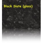 Black Slate (Gloss) Laminate Worktop