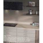 White Fleetwood H3450 ST36 Contemporary Worktop