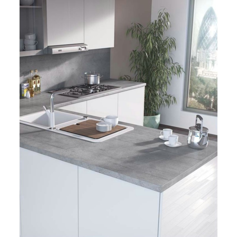 Kitchen Worktops That Fit Over Existing Worktops: Boston Concrete F283 ST22 Contemporary Worktop