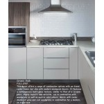 Ceramic Chalk F312 ST87 Contemporary Worktop