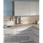 Grey Bardolino Oak H1146 ST10 Contemporary Worktop