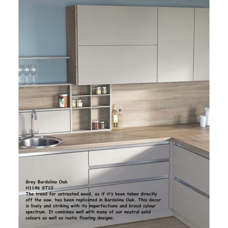 grey bardolino oak h1146 st10 contemporary worktop. Black Bedroom Furniture Sets. Home Design Ideas