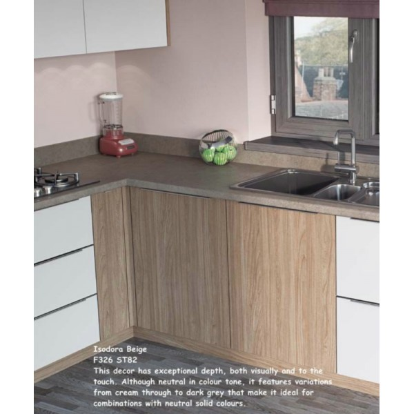Isodora Beige F326 ST82 Contemporary Worktop