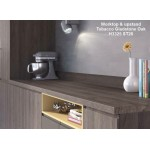Tobacco Gladstone Oak H3325 ST28 Premium Square Edge Worktop 38mm