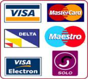 CreditmCards Acepted