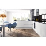 Openhouse J-Profile Chantilly Painted White High Gloss Handless Kitchen