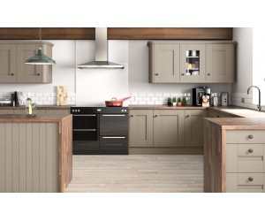 Openhouse Lancashire Olive Grey Oak Grain Shaker Kitchen