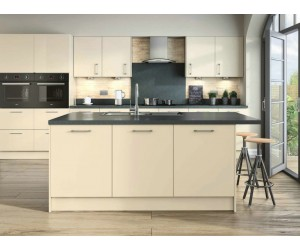 Openhouse Aberdeen2 Cream Gloss Kitchen
