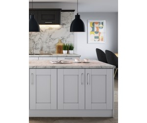 Openhouse Shropshire Light Grey Oak Grain Shaker Kitchen